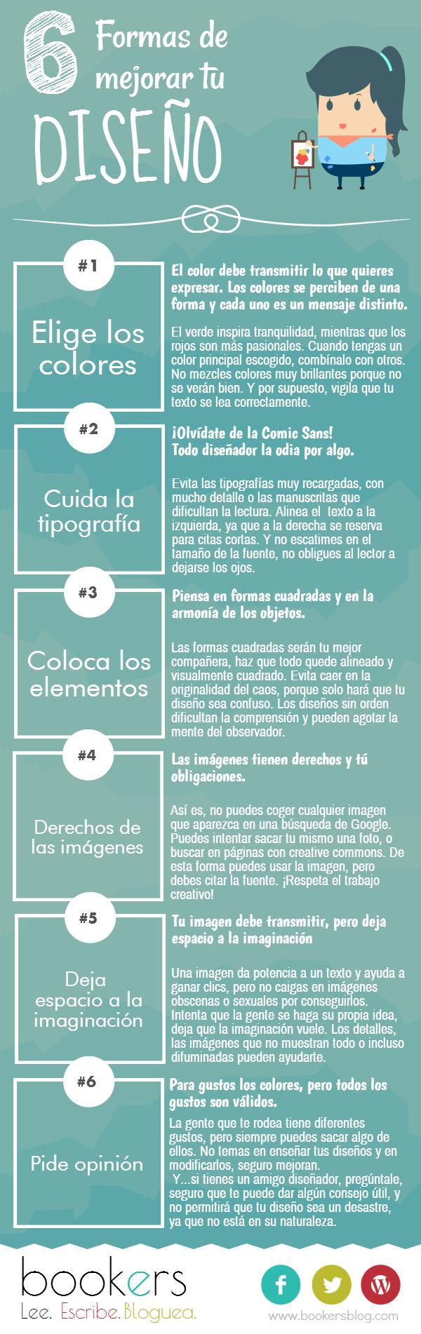 6  Formas de mejorar tu diseño