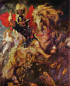Fotografía: St. George and the Dragon - Peter Paul Ruebens - 1606